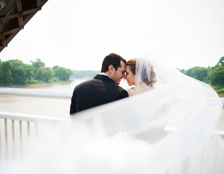 Winnipeg wedding photographer, destination wedding, blowing veil
