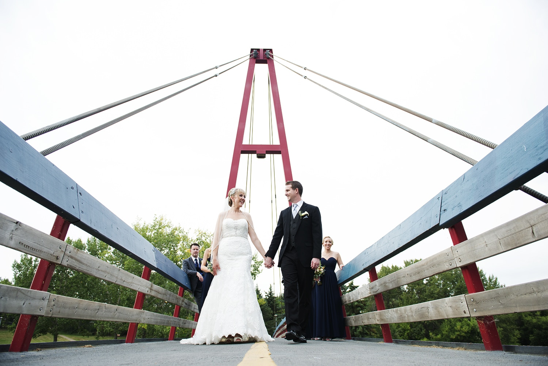 West edmonton mall wedding