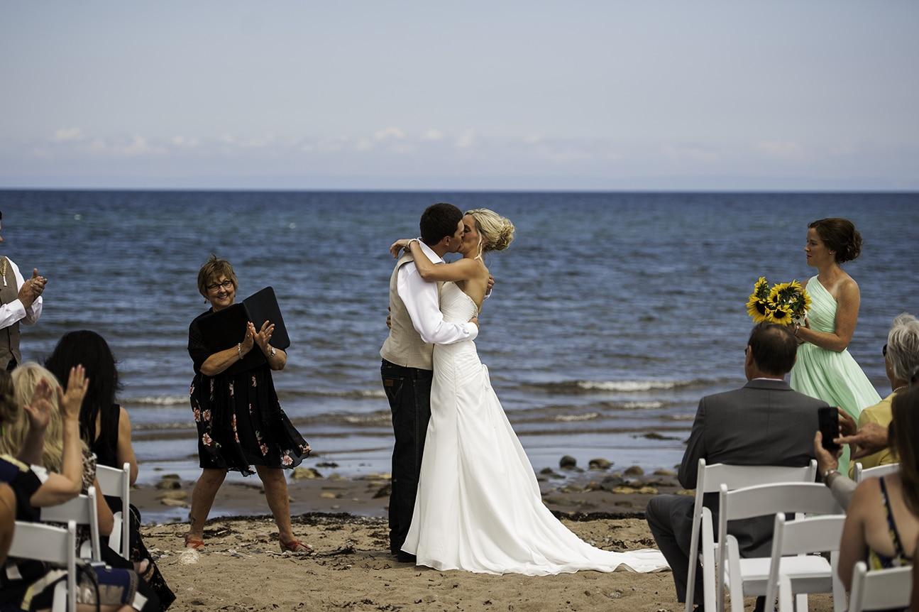 Martha Tanner Destination Nova Scotia Beach Wedding