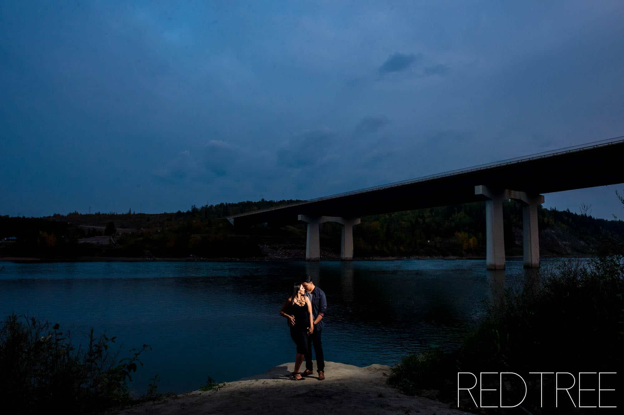 Edmonton Engagement Photographer Devon Bridge Engagement