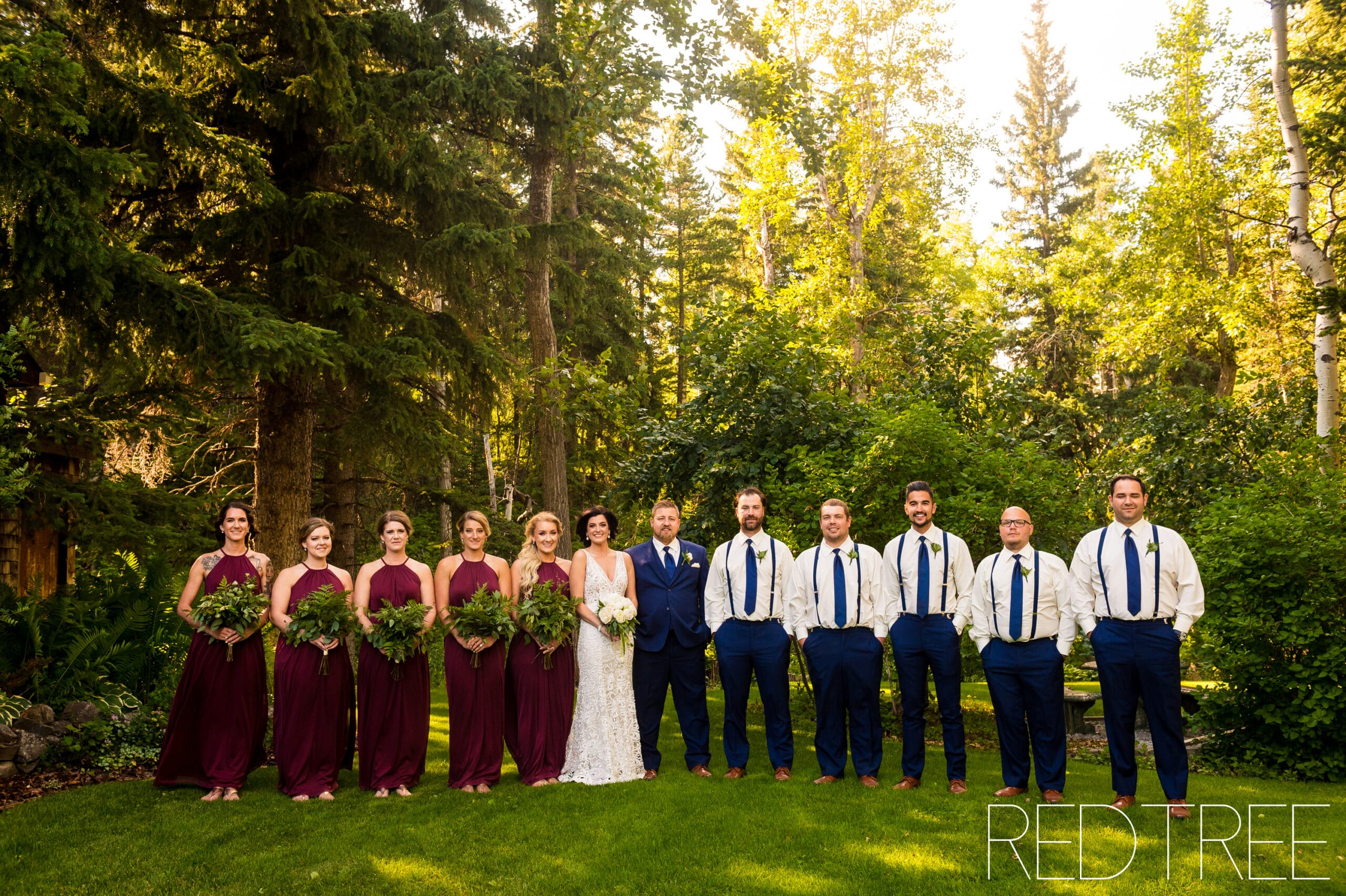 Crowsnest Pass Photographer Springbreak Flower Farm Wedding
